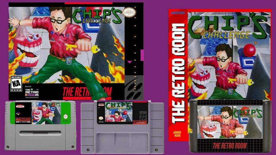 Chips Challenge SNES Mega Drive