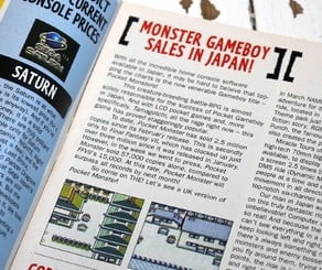 C&VG was one of the first English language magazines to pick up on the Pocket Monsters craze sweeping Japan, and ran regular news stories