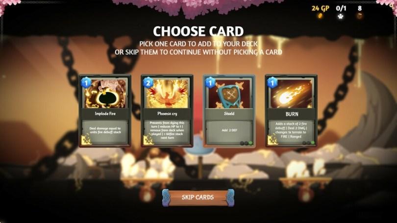 Fire Choose Card