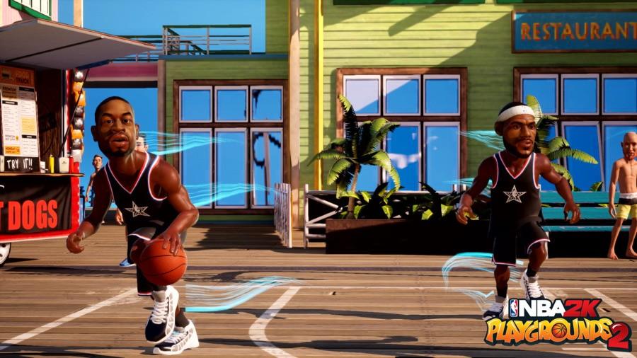 NBA2KPG2 Bron And Wade