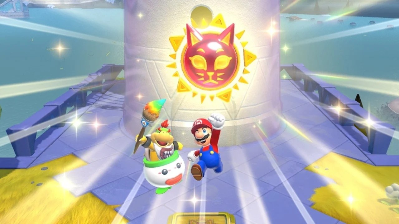 You will be able to change the extent to which Bowser Jr. helps you in new Super Mario 3D World add-ons