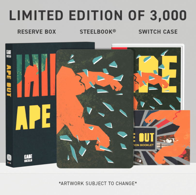 Ape Out Switch Physical