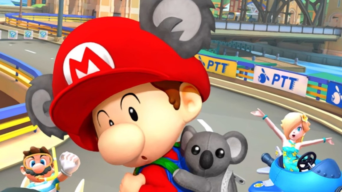 Nintendo Teases Mario Kart Tour's Brand-New City Course