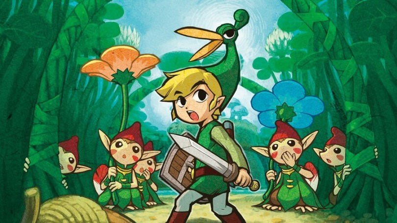 I never finished Minish Cap, and you can't make me