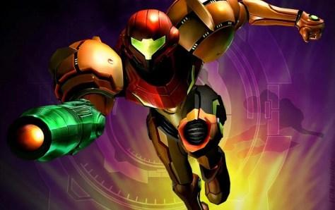 It's Samus! From Metroid!