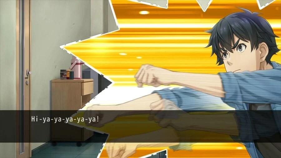 Badguy Murderman tries to impress Ayumi