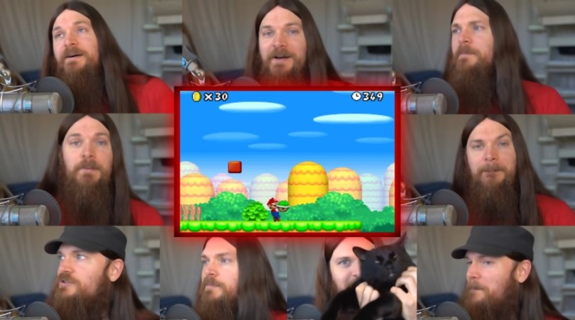 Smooth McGroove sings the Overworld Theme on YouTube