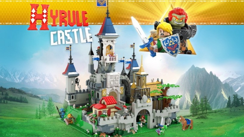 Zelda sets have historically been successful with fans, but not been approved by LEGO