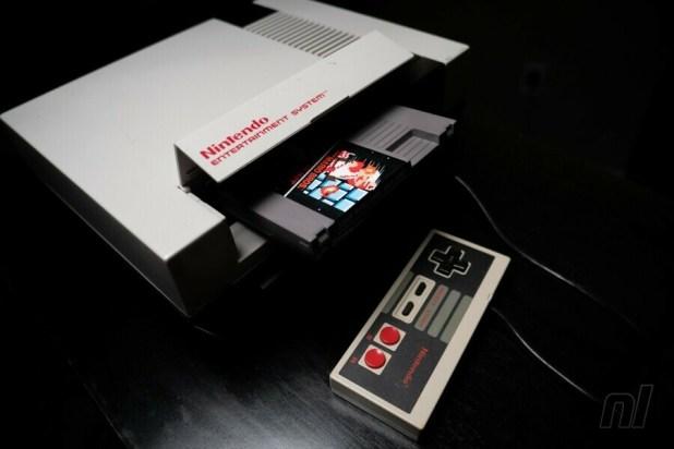 NES and Super Mario Bros
