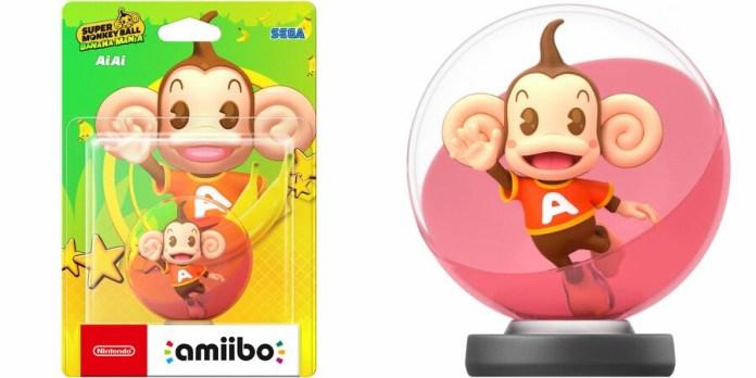 Super Monkey Ball amiibo