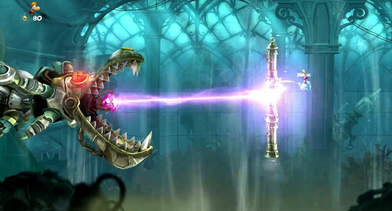 Video New Rayman Legends Wii U Stealth Stage Sneaks Into