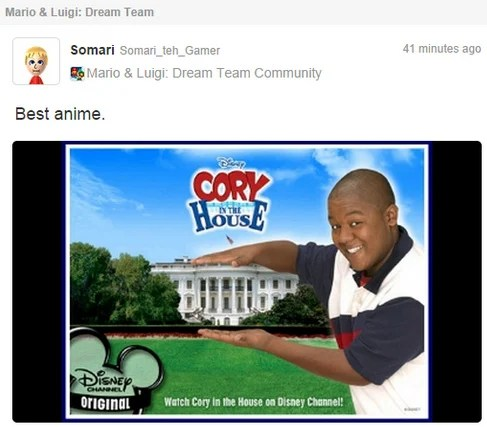Cory in Da House via Nintendo Life