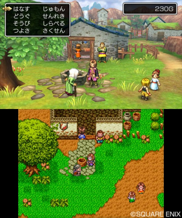 Dragon Quest XI 3DS Screens Show Off the Blend of Old and ...