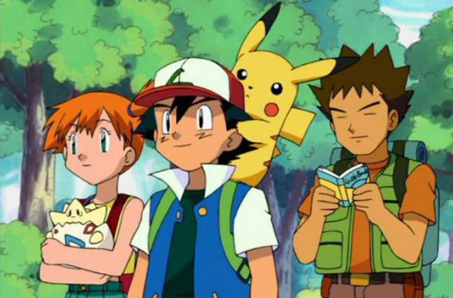 The original Pokemon series, my first anime. Sunshine Blogger Award