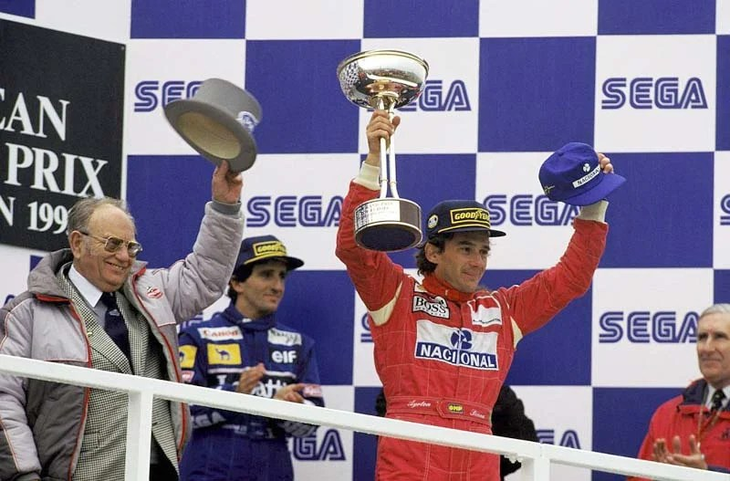 Image result for 1993 donington podium