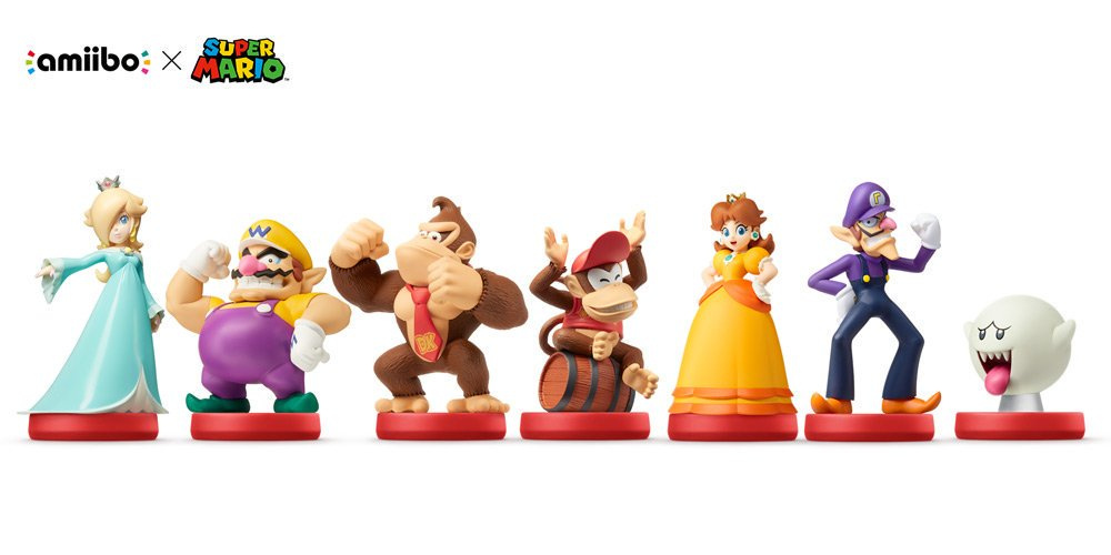 Reminder Super Mario Series Wave 2 Amiibo Hit North