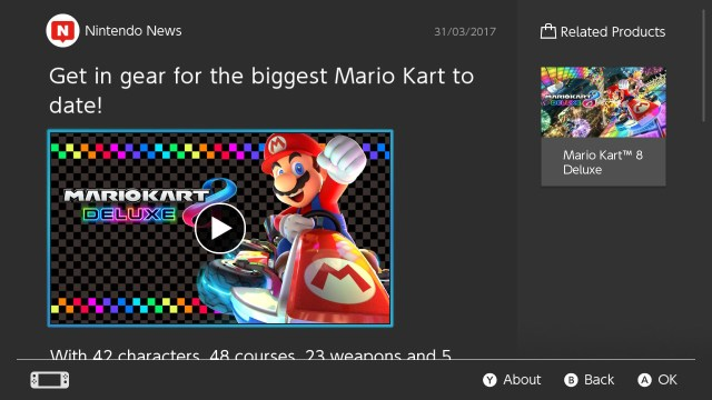 Video that is available on Switch looks pretty good on the system
