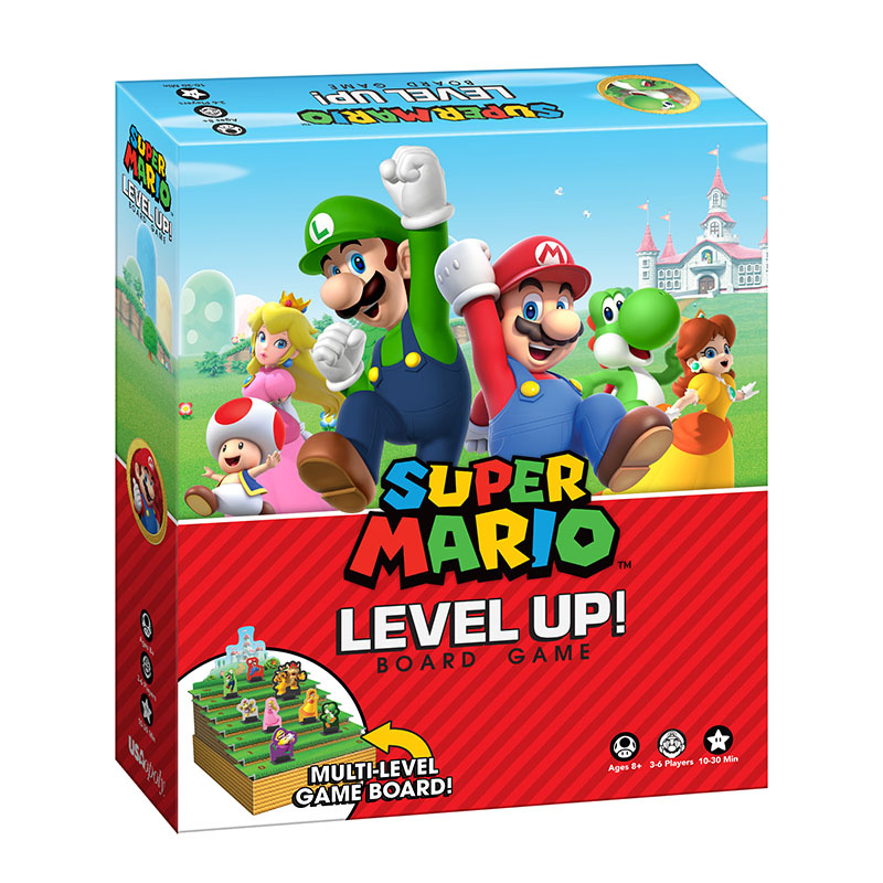 Super Mario Level Up Is An Intriguing New Board Game From