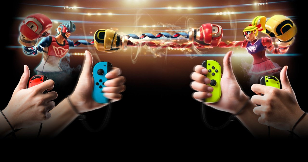 ARMS And Nintendo Switch Keep A Grip On The Japanese