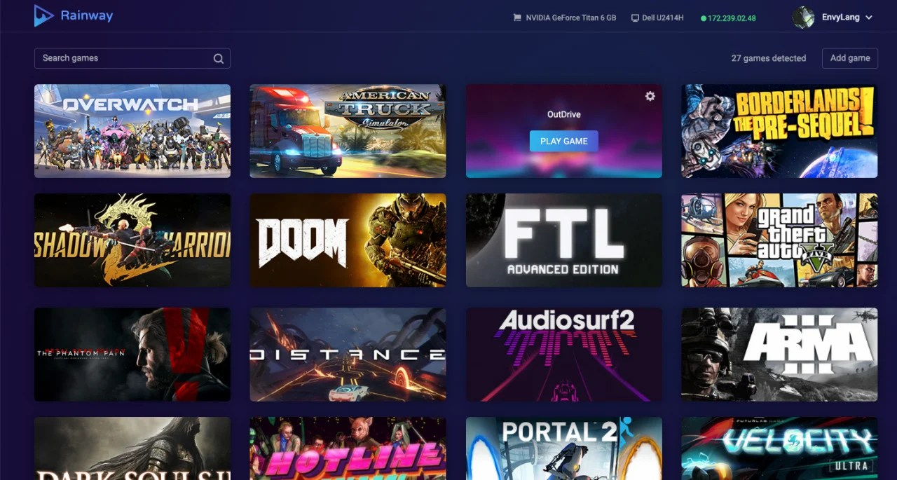 PC Game Streaming Service Rainway Confirms Switch As A