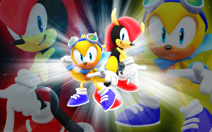 Sonic Mania Plus Arrives On Switch This Summer   Nintendo Life these two guys jpg
