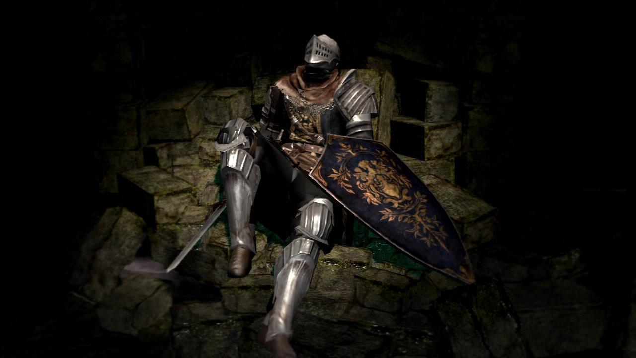 Dark Souls Elite Knight Meme