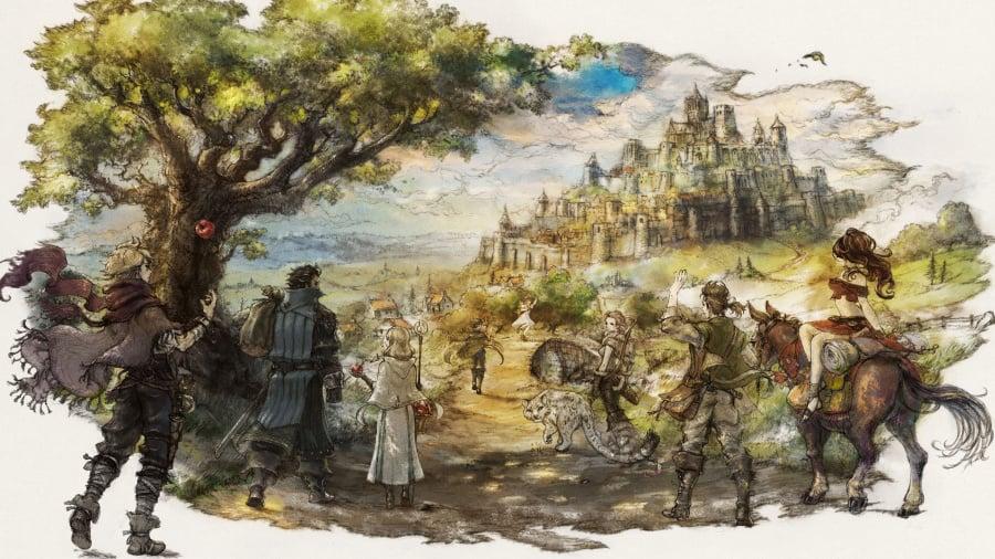 Image result for octopath traveler overworld
