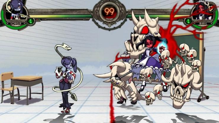 Skullgirls 2nd Encore Review - Captura de pantalla 1 de 4