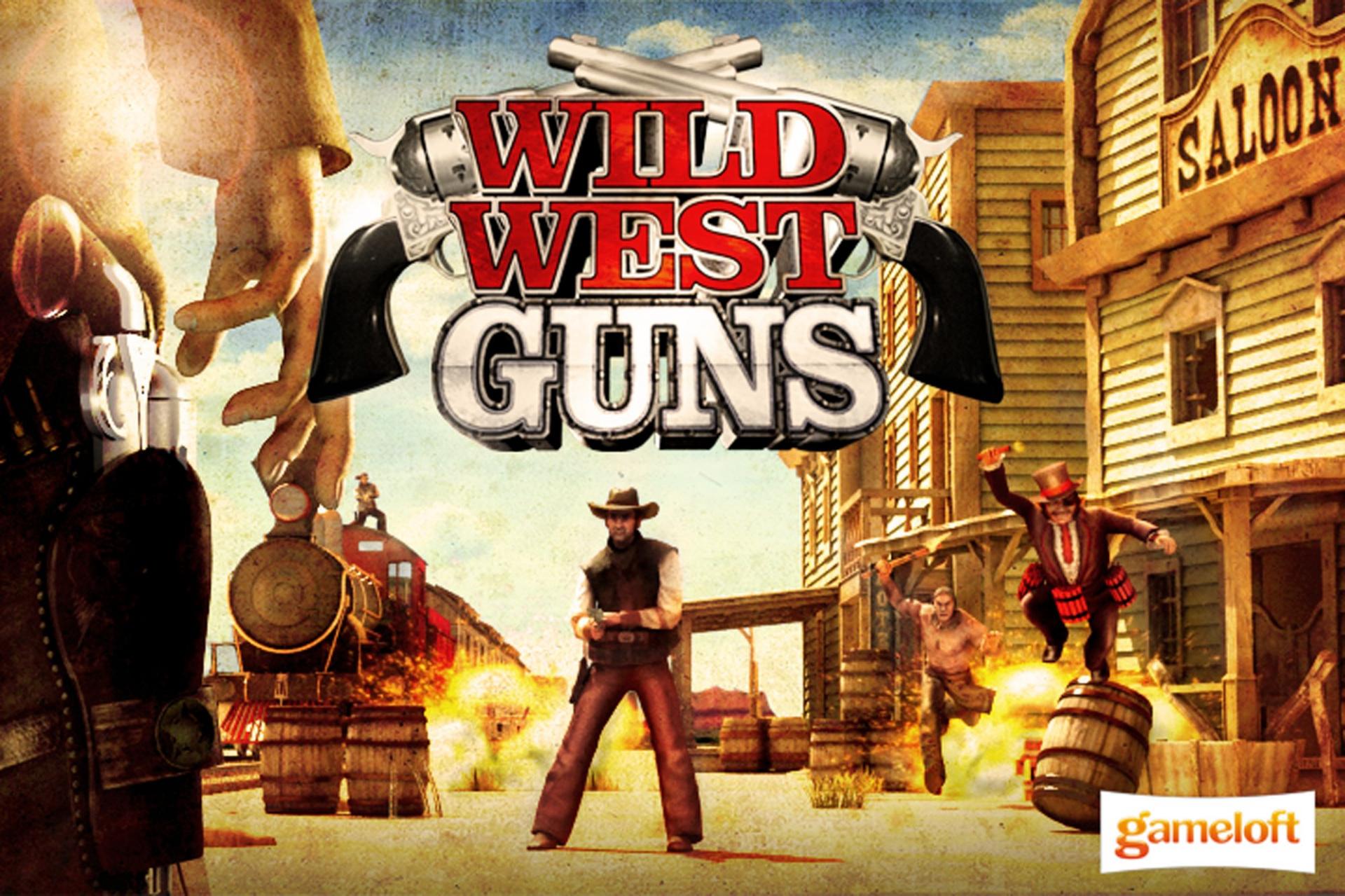 Wild West Guns Wiiware Screenshots