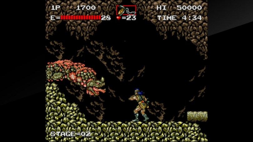 Arcade Archives Haunted Castle Review - Screenshot 3 of 5