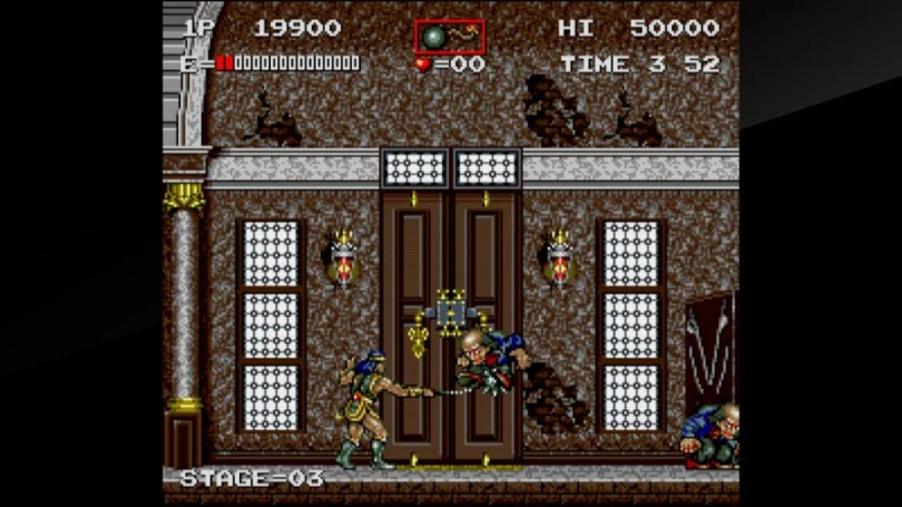 Arcade Archives Haunted Castle Review - Screenshot 4 of 5