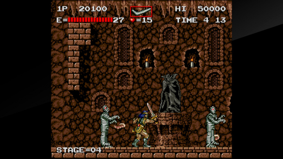Arcade Archives Haunted Castle Review - Screenshot 1 of 5