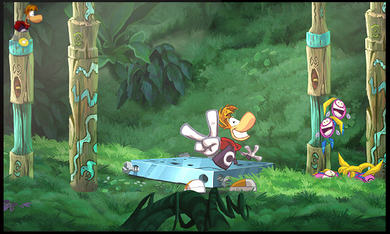 Rayman Origins Review 3DS Nintendo Life