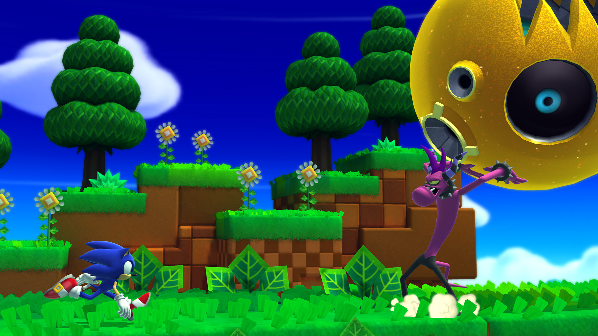Sonic Lost World Wii U News Reviews Trailer Amp Screenshots