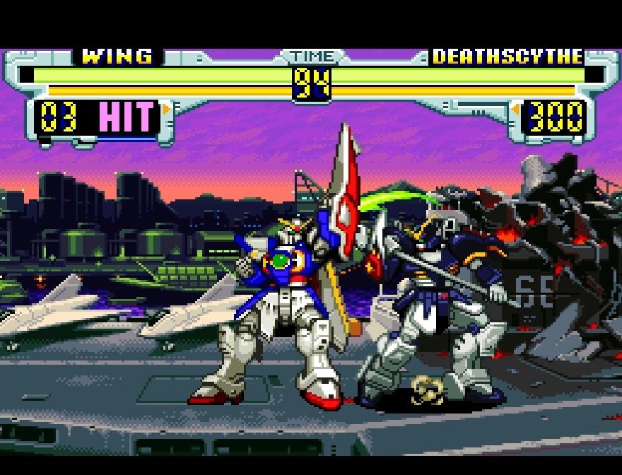 Gundam Wing Endless Duel SNES Super Nintendo News