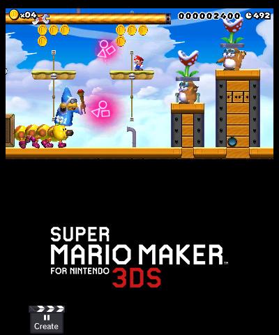 Super Mario Maker For Nintendo 3DS 3DS Screenshots