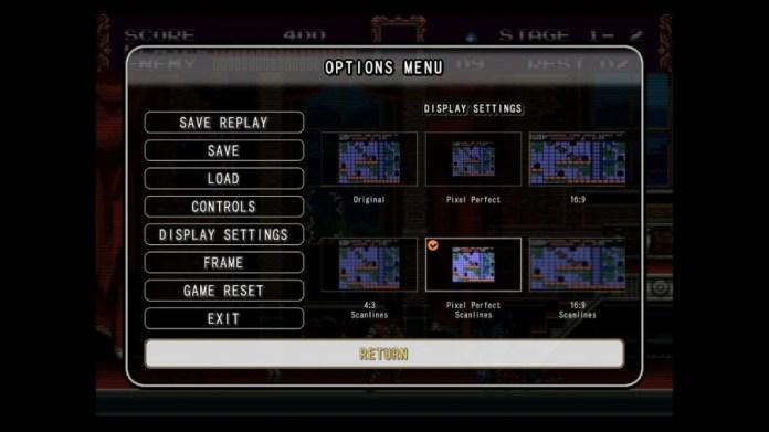 Castlevania Anniversary Collection Review - Captura de pantalla 3 de 6