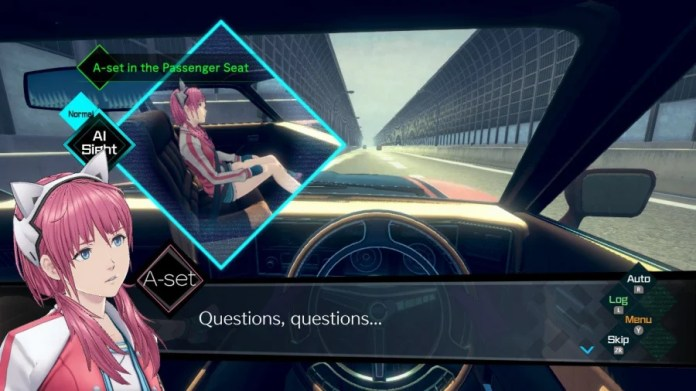 AI: The Somnium Files Review - Screenshot 2 of 7