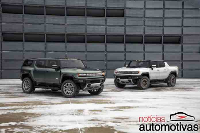 GMC Hummer SUV is unveiled in the US, but it is not for now