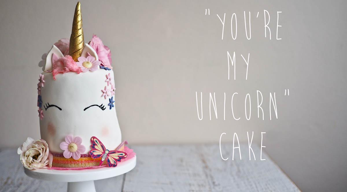 Unicorn Rainbow Cake Not Quite Nigella
