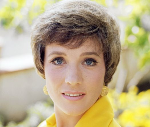 Julie Andrews ('Mary Poppins', 'The Sound of Music') over ...