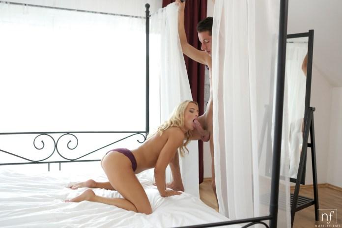 NubileFilms.com - Nick Ross,Victoria Pure: Cum Deep - S25:E8