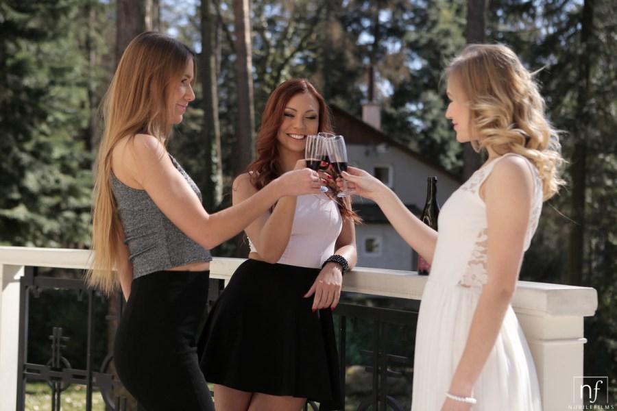 NubileFilms.com - Aislin,Alexis Crystal,Morgan Rodriguez: Passionate Threesome - S24:E4