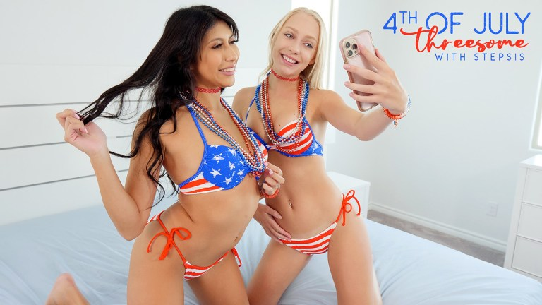 Bratty Sis - Fourth Of July Threesome With Stepsis - S19:E1