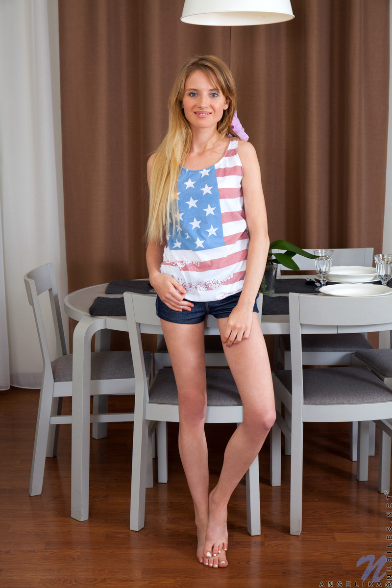 Nubiles.net - Angelika: Tiny Shorts