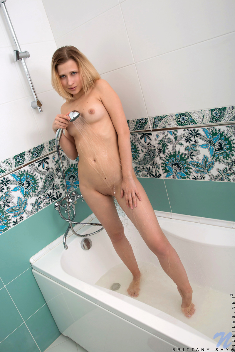 Nubiles.net - Brittany Shy: Naked And Wet