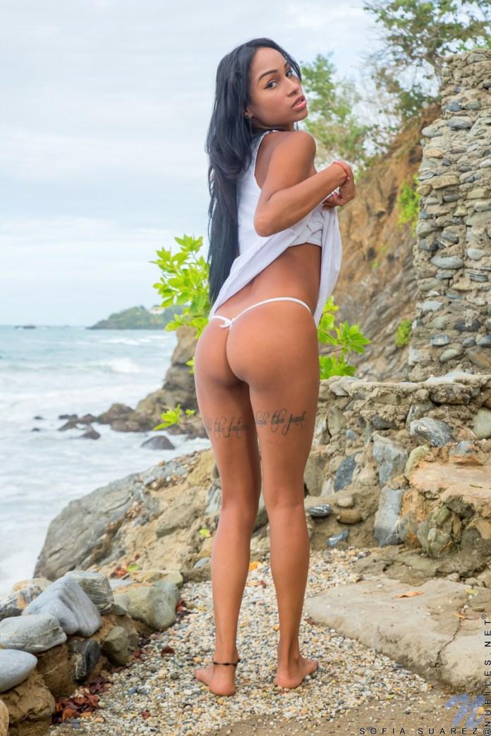 Nubiles.net - Sofia Suarez: Beach Beauty