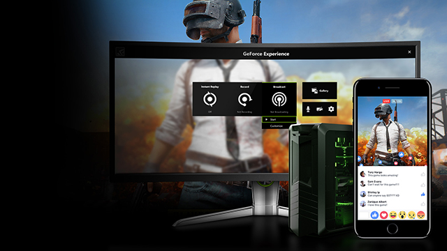 Play, Stream and Capture PlayerUnknown's Battlegrounds with GeForce Experience