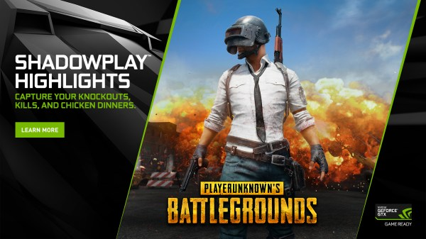 PlayerUnknowns Battlegrounds Adds NVIDIA Highlights In