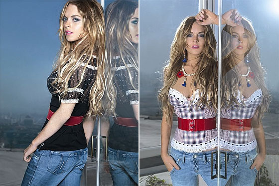 Lindsay Lohan's Fornarina Campaign Is Out